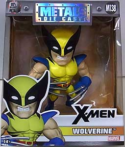 JADA TOYS X-MEN METALS DIE CAST 4インチフィギュア WOLVERINE