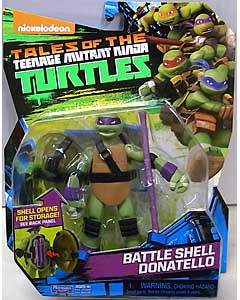 PLAYMATES NICKELODEON TALES OF THE TEENAGE MUTANT NINJA TURTLES ベーシックフィギュア 2017 BATTLE SHELL DONATELLO