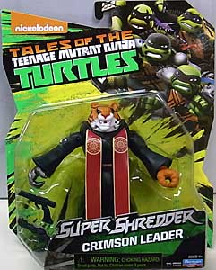 PLAYMATES NICKELODEON TEENAGE MUTANT NINJA TURTLES SUPER SHREDDER ベーシックフィギュア 2017 CRIMSON LEADER