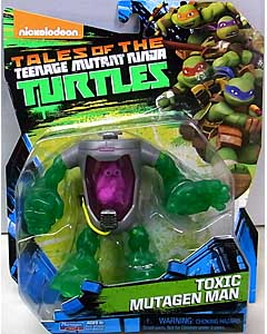 PLAYMATES NICKELODEON TALES OF THE TEENAGE MUTANT NINJA TURTLES ベーシックフィギュア 2017 TOXIC MUTAGEN MAN 台紙傷み特価