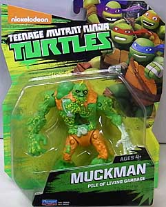 PLAYMATES NICKELODEON TEENAGE MUTANT NINJA TURTLES ベーシックフィギュア 2017 MUCKMAN