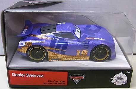 CARS 3 USAディズニーストア限定 ダイキャストミニカー DANIEL SWERVEZ