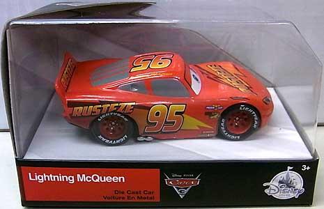 CARS 3 USAディズニーストア限定 ダイキャストミニカー LIGHTNING McQUEEN パッケージワレ特価