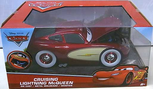JADA TOYS METALS DIE CAST 1/24スケール CARS 2017 CRUISING LIGHTNING McQUEEN