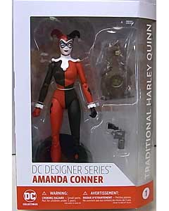 DC COLLECTIBLES DC COMICS DESIGNER SERIES AMANDA CONNER TRADITIONAL HARLEY QUINN パッケージ傷み特価