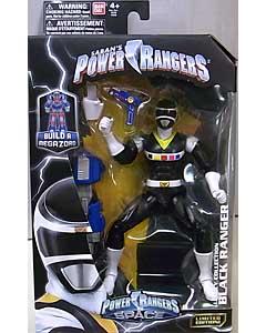 USA BANDAI POWER RANGERS LEGACY COLLECTION 6インチアクションフィギュア IN SPACE BLACK RANGER