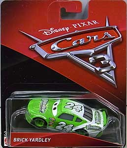 MATTEL CARS 3 シングル BRICK YARDLEY