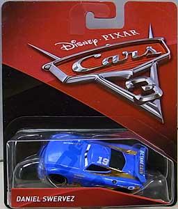 MATTEL CARS 3 シングル DANIEL SWERVEZ