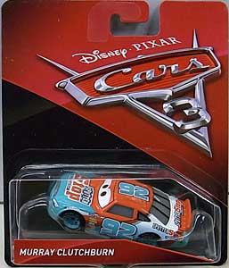 MATTEL CARS 3 シングル MURRAY CLUTCHBURN