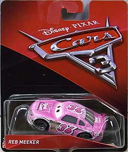 MATTEL CARS 3 シングル REB MEEKER