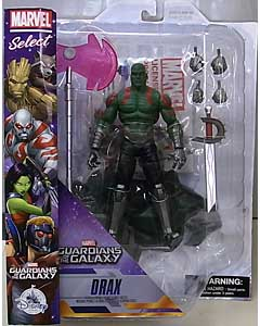 DIAMOND SELECT MARVEL SELECT USAディズニーストア限定 GUARDIANS OF THE GALAXY DRAX