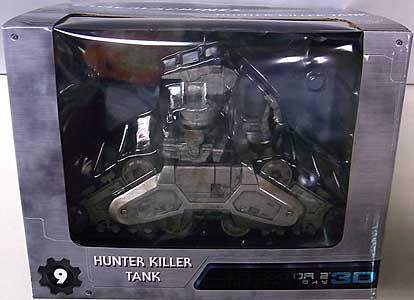 NECA CINEMACHINES DIE CAST COLLECTIBLES SERIES 3 TERMINATOR 2 HUNTER KILLER TANK