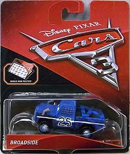 MATTEL CARS 3 シングル BROADSIDE