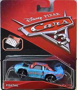MATTEL CARS 3 シングル FISHTAIL ブリスター傷み特価