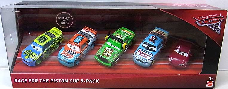 MATTEL CARS 3 RACE FOR THE PISTON CUP 5PACK