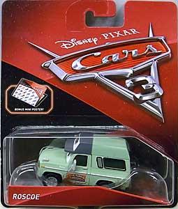 MATTEL CARS 3 シングル ROSCOE 台紙傷み特価