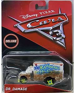 MATTEL CARS 3 DELUXE DR. DAMAGE