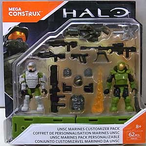MEGA CONSTRUX HALO UNSC MARINES CUSTOMIZER PACK 台紙傷み特価