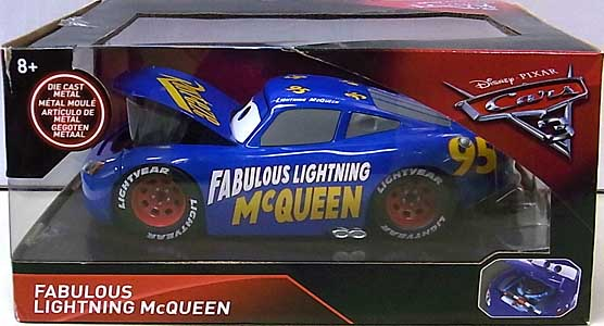 JADA TOYS CARS 3 METALS DIE CAST 1/24スケール FABULOUS LIGHTNING McQUEEN パッケージ傷み特価