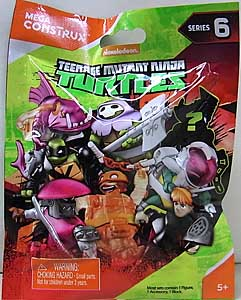 MEGA CONSTRUX NICKELODEON TEENAGE MUTANT NINJA TURTLES SERIES 6 1PACK