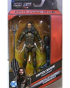 MATTEL DC COMICS MULTIVERSE 6インチアクションフィギュア 映画版 JUSTICE LEAGUE AQUAMAN [STEPPENWOLF SERIES]