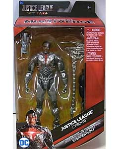 MATTEL DC COMICS MULTIVERSE 6インチアクションフィギュア 映画版 JUSTICE LEAGUE CYBORG [STEPPENWOLF SERIES]