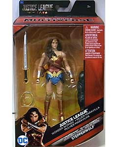 MATTEL DC COMICS MULTIVERSE 6インチアクションフィギュア 映画版 JUSTICE LEAGUE WONDER WOMAN [STEPPENWOLF SERIES]