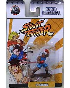 JADA TOYS NANO METALFIGS STREET FIGHTER BALROG