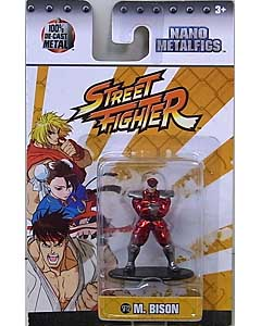 JADA TOYS NANO METALFIGS STREET FIGHTER M. BISON
