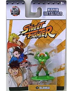 JADA TOYS NANO METALFIGS STREET FIGHTER BLANKA
