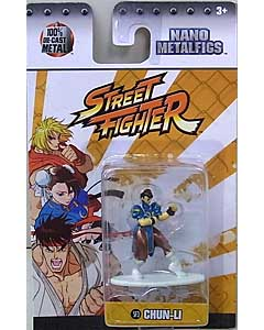 JADA TOYS NANO METALFIGS STREET FIGHTER CHUN-LI
