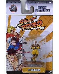 JADA TOYS NANO METALFIGS STREET FIGHTER DHALSIM