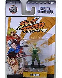 JADA TOYS NANO METALFIGS STREET FIGHTER GUILE