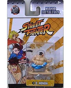 JADA TOYS NANO METALFIGS STREET FIGHTER E. HONDA