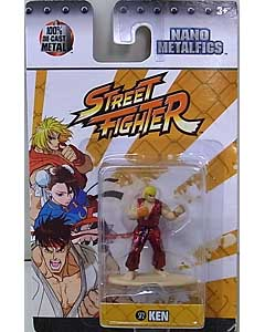 JADA TOYS NANO METALFIGS STREET FIGHTER KEN