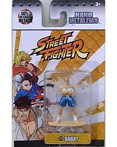 JADA TOYS NANO METALFIGS STREET FIGHTER SAGAT