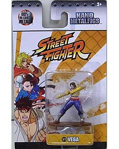 JADA TOYS NANO METALFIGS STREET FIGHTER VEGA