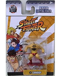 JADA TOYS NANO METALFIGS STREET FIGHTER ZANGIEF