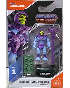 MEGA CONSTRUX MEGA CONSTRUX HEROES SERIES 1 MASTERS OF THE UNIVERSE SKELETOR ブリスター傷み特価