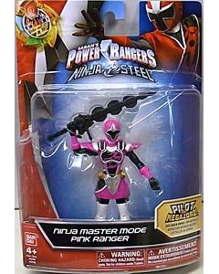 USA BANDAI POWER RANGERS NINJA STEEL 5インチアクションフィギュア NINJA MASTER MODE PINK RANGER