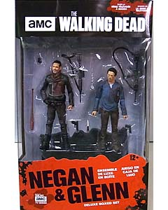 McFARLANE TOYS THE WALKING DEAD TV 5インチアクションフィギュア NEGAN & GLENN 2PACK
