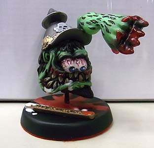 MAD SCULPTURES MONSTER MINI STATUE [GREEN]