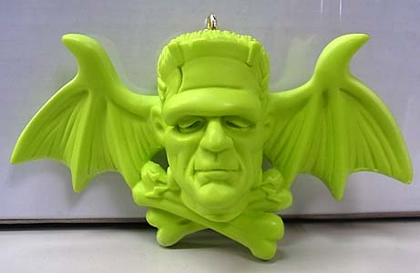 MAD SCULPTURES MASTER OF HORROR KEY CHAIN [LIGHT GREEN]