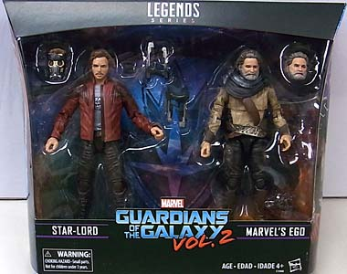 HASBRO MARVEL LEGENDS 2017 2PACK 映画版 GUARDIANS OF THE GALAXY VOL. 2 STAR-LORD & EGO