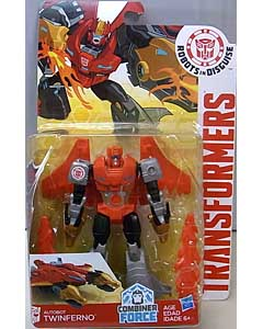 HASBRO アニメ版 TRANSFORMERS ROBOTS IN DISGUISE COMBINER FORCE WARRIOR CLASS AUTOBOT TWINFERNO