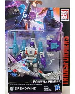 HASBRO TRANSFORMERS GENERATIONS POWER OF THE PRIMES DELUXE CLASS DREADWIND