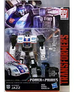 HASBRO TRANSFORMERS GENERATIONS POWER OF THE PRIMES DELUXE CLASS AUTOBOT JAZZ