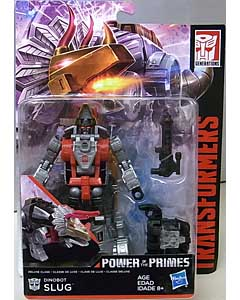 HASBRO TRANSFORMERS GENERATIONS POWER OF THE PRIMES DELUXE CLASS DINOBOT SLUG 台紙傷み特価