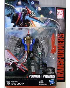 HASBRO TRANSFORMERS GENERATIONS POWER OF THE PRIMES DELUXE CLASS DINOBOT SWOOP ブリスター傷み特価