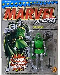 TOYBIZ MARVEL SUPER HEROES 5インチアクションフィギュア DR. DOOM [POWER DRIVEN WEAPONS]